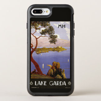 Lake Garda Italy custom monogram phone cases