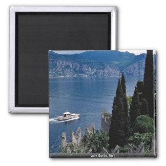 Lake Garda, Italy Square Magnet