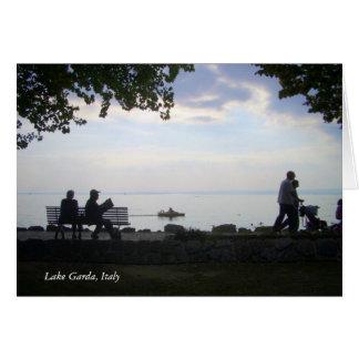 Lake Garda, northern Italy., Lake Garda, Italy Greeting Card