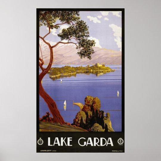 Lake Garda Poster