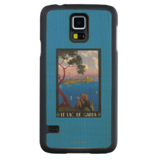 Lake Garda Travel Promotional Poster Maple Galaxy S5 Case
