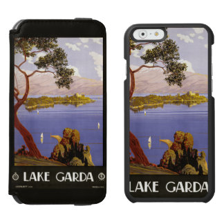 Lake Garda vintage travel cases Incipio Watson™ iPhone 6 Wallet Case