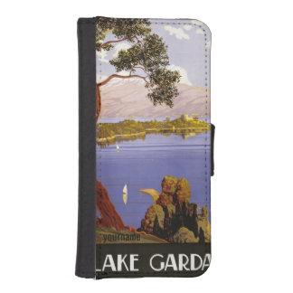 Lake Garda vintage travel phone wallets