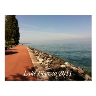 Lake Geneva 2011 Postcard