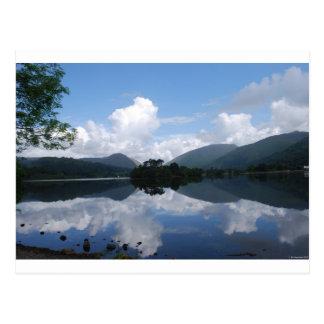 Lake Grasmere Postcard
