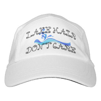 Lake Hair Don't Care Cute Women's Fashion Hat