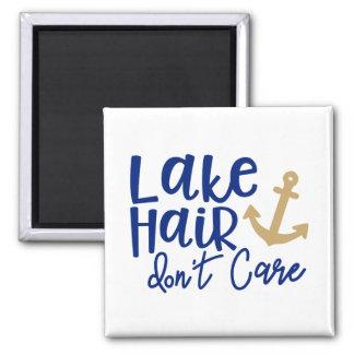 Lake Hair Don't Care Magnet
