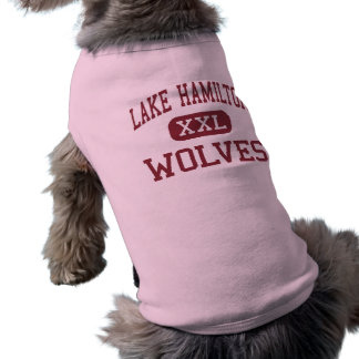 Lake Hamilton - Wolves - Junior - Pearcy Arkansas Sleeveless Dog Shirt