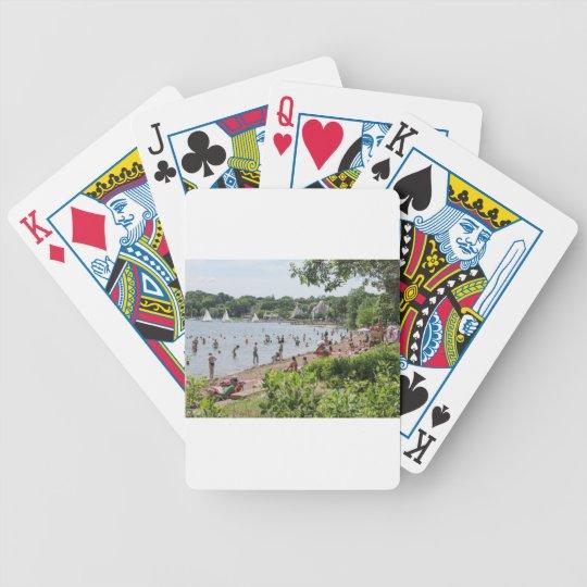 Lake Harriet Shoreline and Band Shell Poker Deck