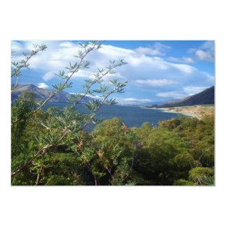 Lake Hawea, New Zealand 13 Cm X 18 Cm Invitation Card