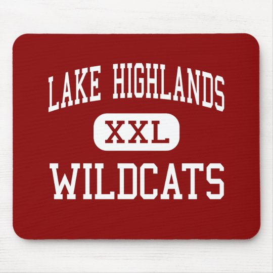 Lake Highlands - Wildcats - High - Dallas Texas Mouse Mat