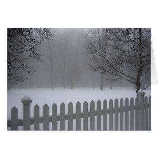 Lake Hill Winter, NY Greeting Card