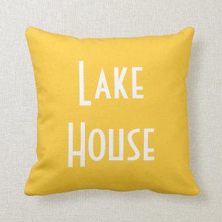 Lake House - Throw Pillow