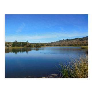 Lake Ilsanjo Annadel Park Santa Rosa CA Postcard