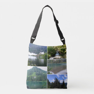 Lake images Cross Body Tote Bag