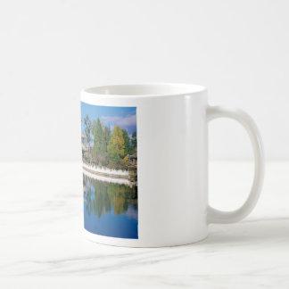 Lake in China Basic White Mug