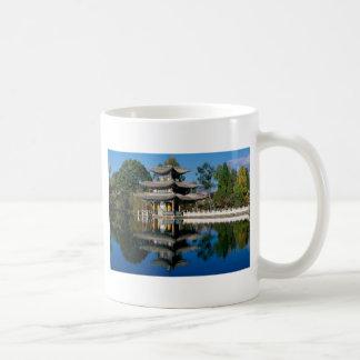 Lake in China Coffee Mugs