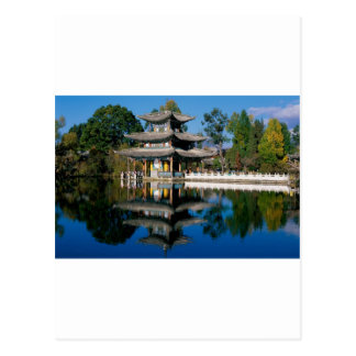 Lake in China Postcard