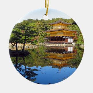 Lake in Japan Ornaments