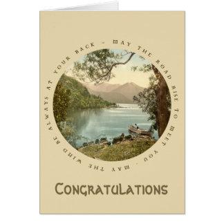 Lake in Kerry Ireland with Irish Proverb Card