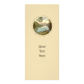 Lake in Kerry Ireland with Irish Proverb Rack Card