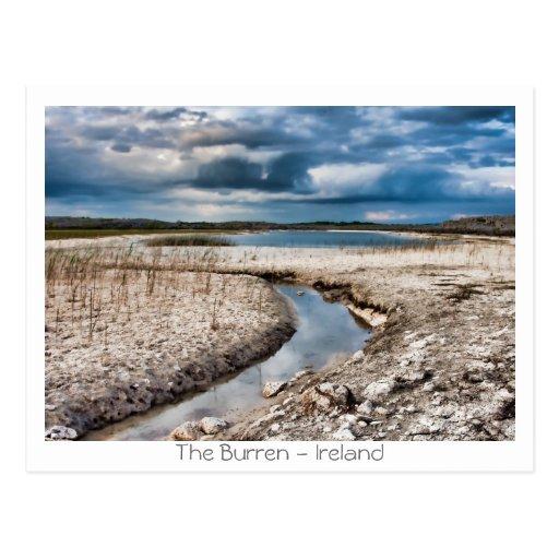 Lake in the Burren Postcard