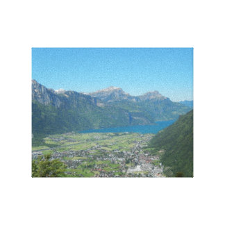 """Lake """" in the mountains"""" canvas print"""
