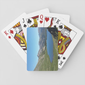 Lake in the Rocky Mountains playing cards