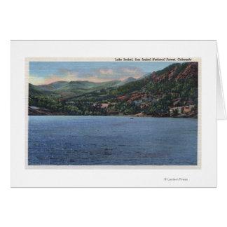 Lake Isabel, Colorado Card