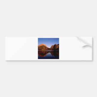 Lake Jenny Grand Teton Park Wyoming Car Bumper Sticker