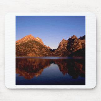 Lake Jenny Grand Teton Park Wyoming Mousepad