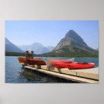 Lake Josephine Glacier National Park Poster
