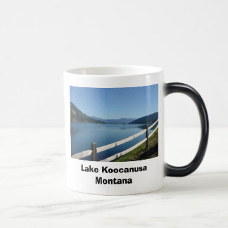 Lake Koocanusa Northwest Montana Morphing Mug
