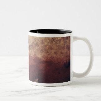 Lake Leman with Setting Sun, c.1876 Two-Tone Coffee Mug