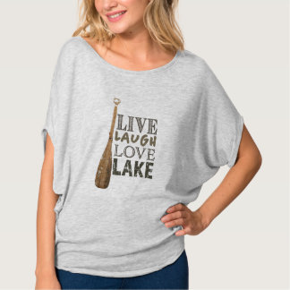 Lake Life Women's Bella Canvas Flowy Circle Top