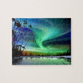 Lake Lights Jigsaw Puzzle