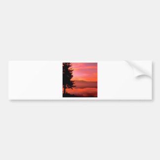 Lake Living Waters Hood Canal Bumper Stickers