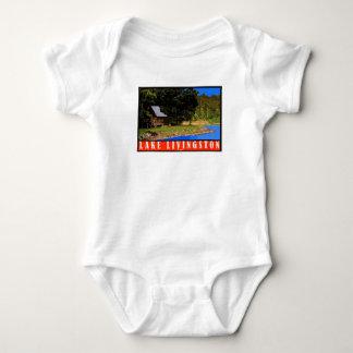 Lake Livingston Retro baby jumper Baby Bodysuit