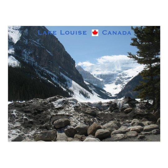 Lake Louise Alberta Canada Postcard