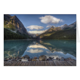 Lake Louise at sunrise, Banff National Park, Card