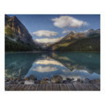 Lake Louise at sunrise, Banff National Park, Poster