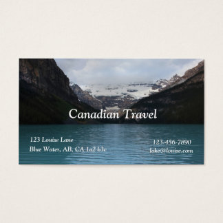 Lake Louise Business Card
