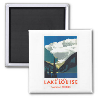 Lake Louise Canadian Rockies Canada Magnet