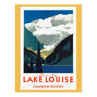 Lake Louise Canadian Rockies Canada Postcard
