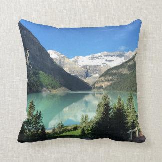 Lake Louise in Canada Cushion