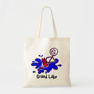 Lake Lover Beach Tote Bag