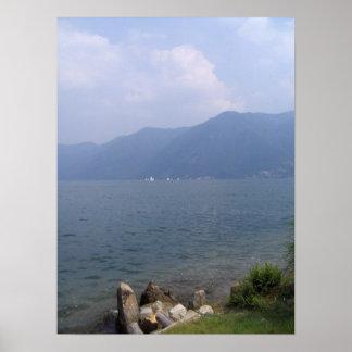 Lake Lugano Poster