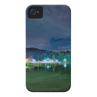 lake lure landscapes near chimney rock fishing nat iPhone 4 covers