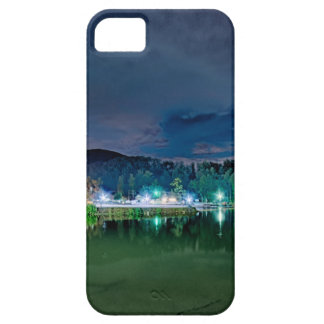 lake lure landscapes near chimney rock fishing nat iPhone 5 covers