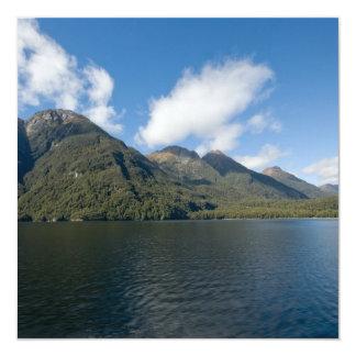 Lake Manapouri 13 Cm X 13 Cm Square Invitation Card